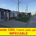 Casa impecable, Noseda 1293 lote de 11 x 31 San Pedro