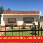 Casa impecable en Santa Lucía, terreno de 550 m2