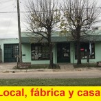 Fábrica de alfajores, local, casa, lote de 504 m2
